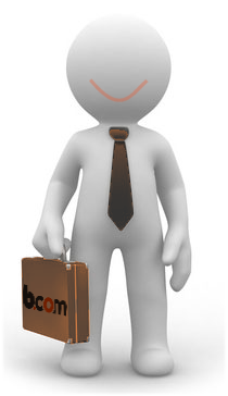 bcom omino felice2 Gestione Rete Vendita e Zone